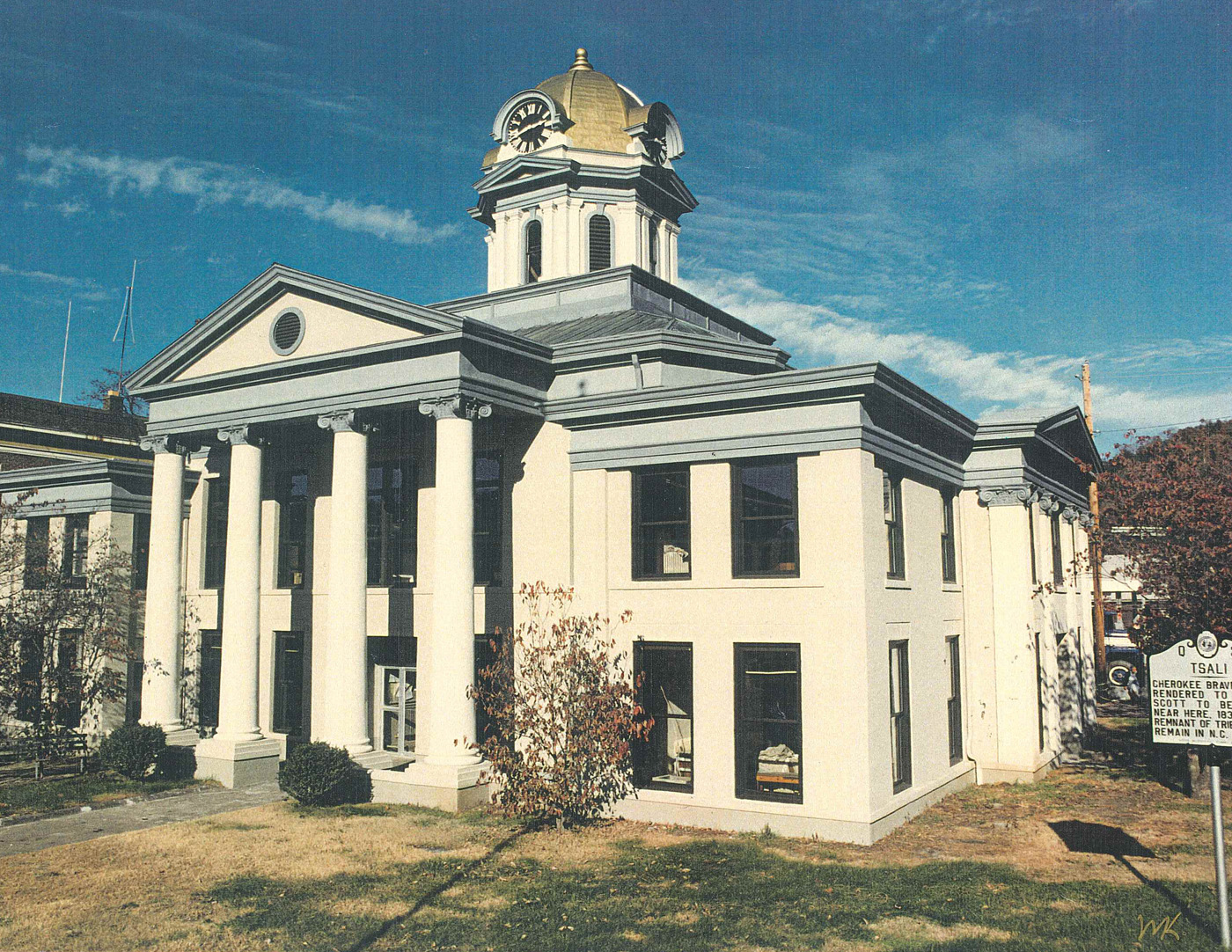 Adaptive Re-Use of The Swain County Courthouse